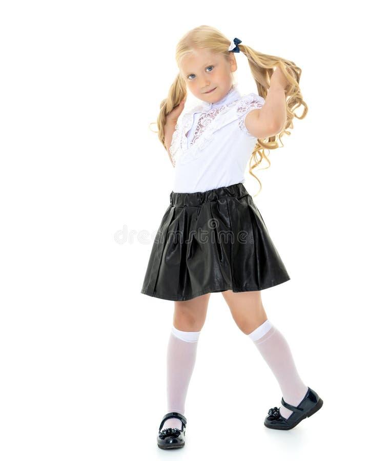 Menina elegante imagem de stock