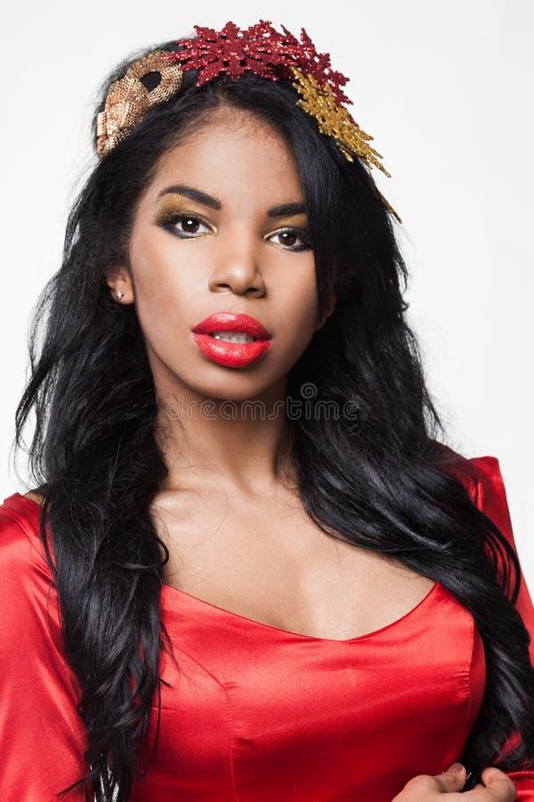 Menina elegante do mulato imagem de stock royalty free