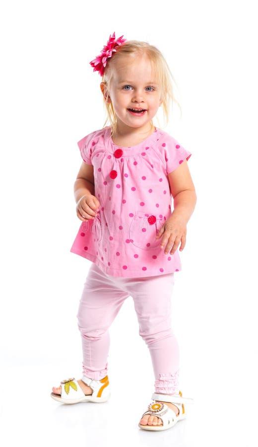 Menina elegante pequena imagem de stock royalty free