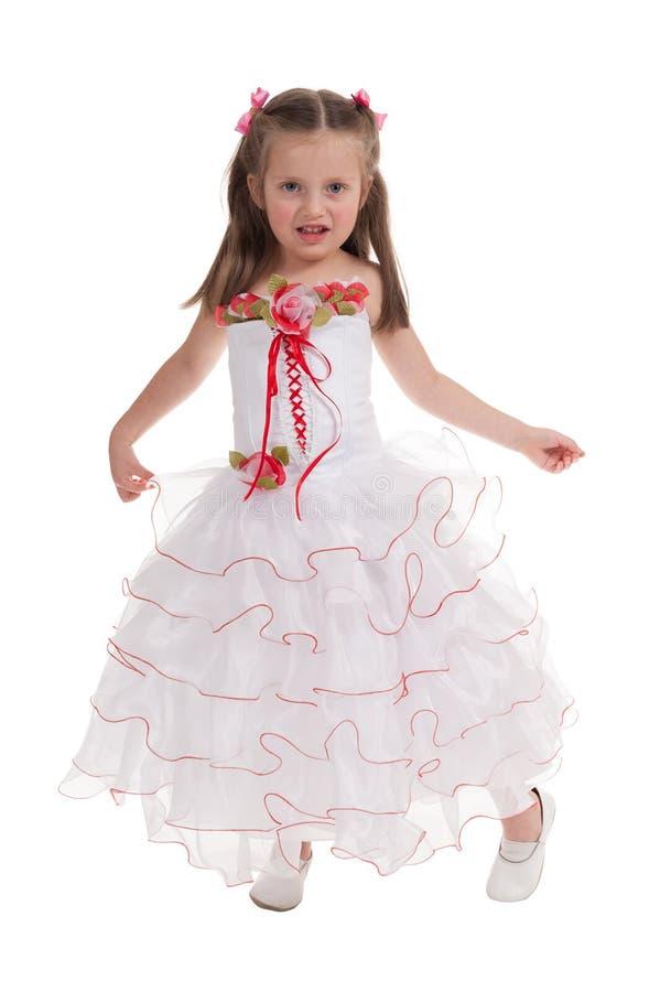 Download Menina Em Um Vestido De Bola Imagem de Stock - Imagem de criança, feliz: 29827485