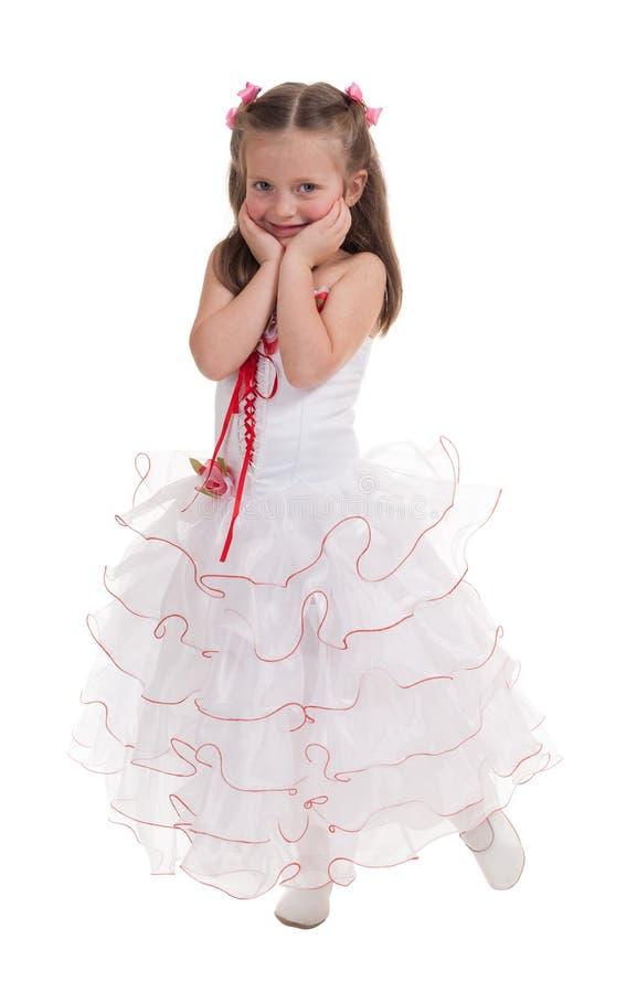Download Menina Em Um Vestido De Bola Imagem de Stock - Imagem de completamente, cheerful: 29827515