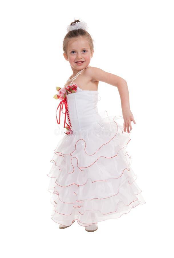 Download Menina Em Um Vestido De Bola Imagem de Stock - Imagem de cheerful, pouco: 29827543