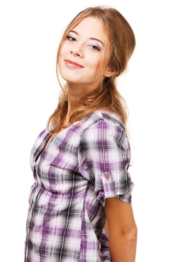 Menina encantadora fotografia de stock