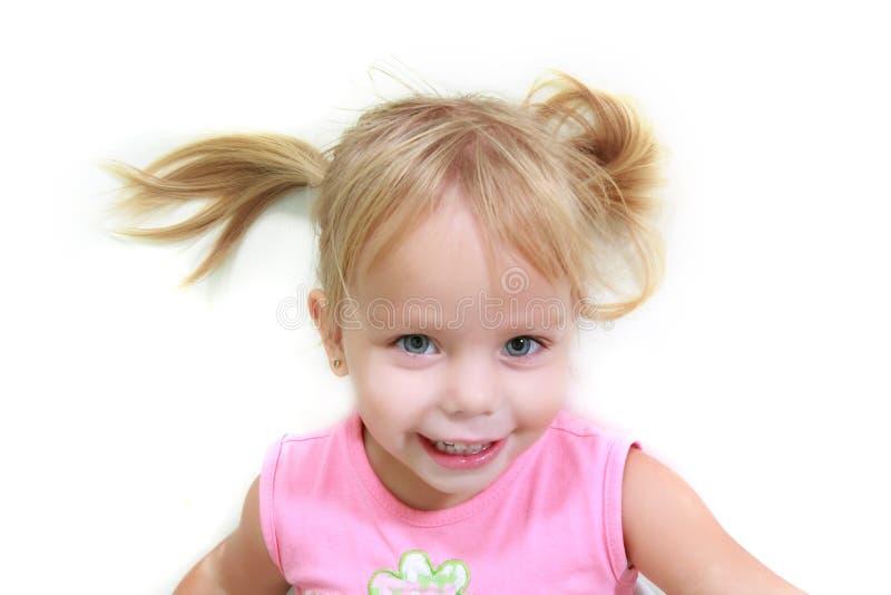 Menina engraçada bonito imagens de stock