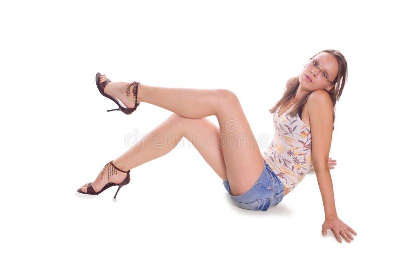 Menina erótica imagens de stock