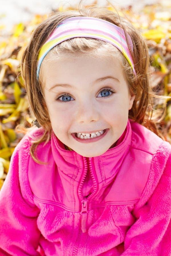 Menina expressivo fotografia de stock royalty free