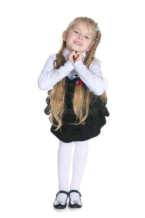 Menina expressivo foto de stock
