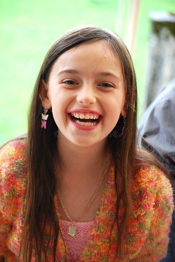 Download Menina feliz foto de stock. Imagem de colorido, feriado - 10050734