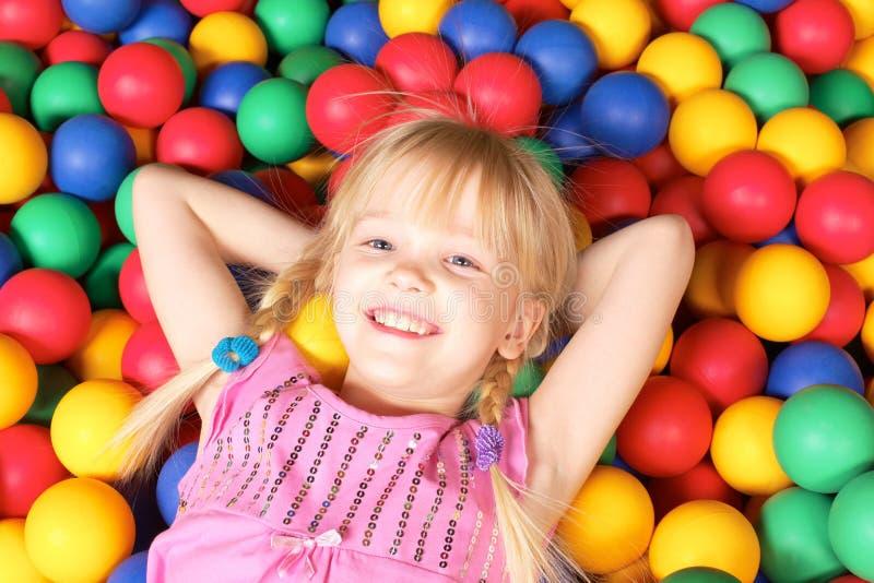 Menina feliz imagens de stock royalty free