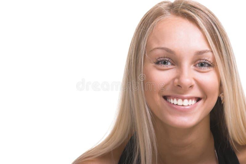 A menina feliz imagem de stock royalty free