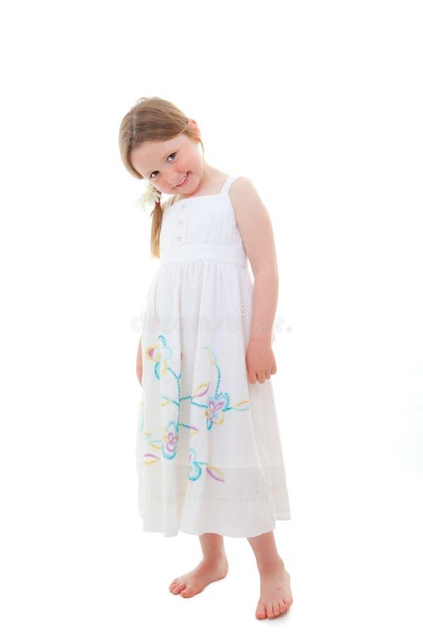 Menina feliz bonito imagens de stock