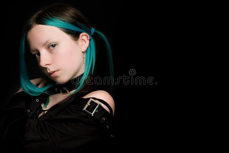 Menina gótico fotos de stock royalty free