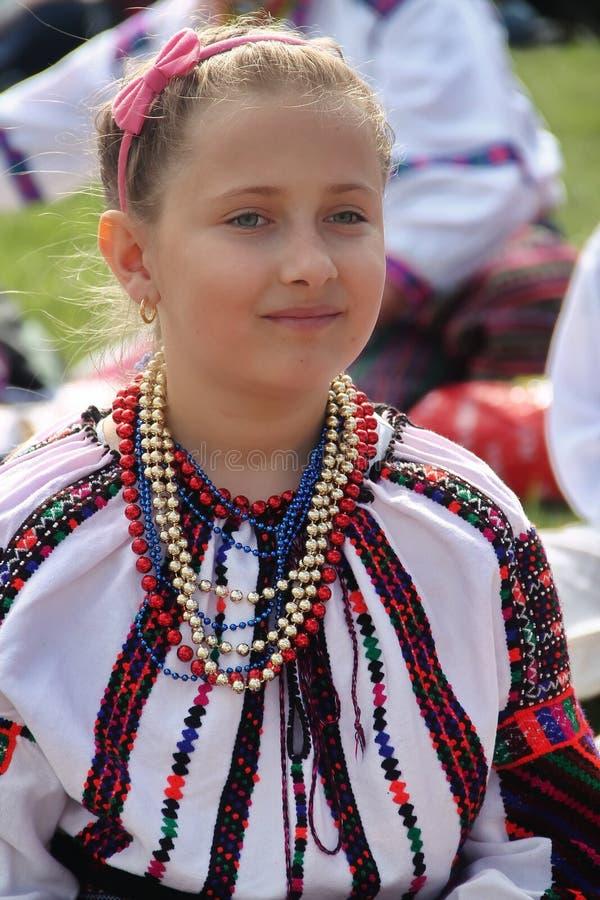 Menina húngara fotografia de stock royalty free