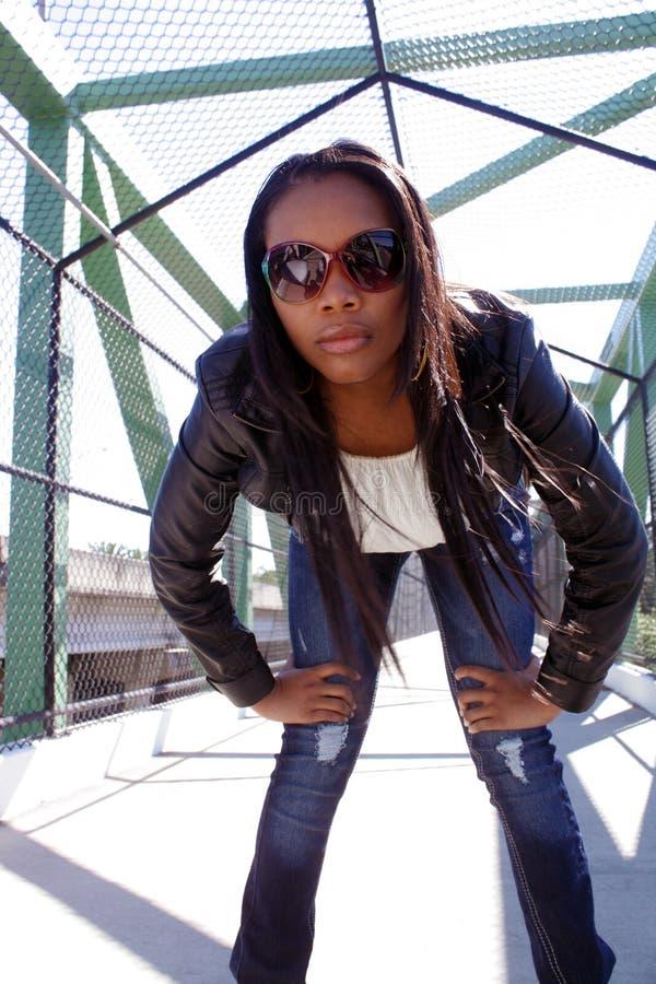 Menina haitiana bonita ao ar livre (6) fotos de stock