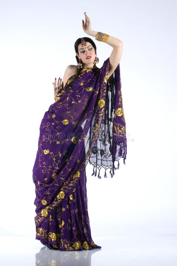 Menina indiana foto de stock