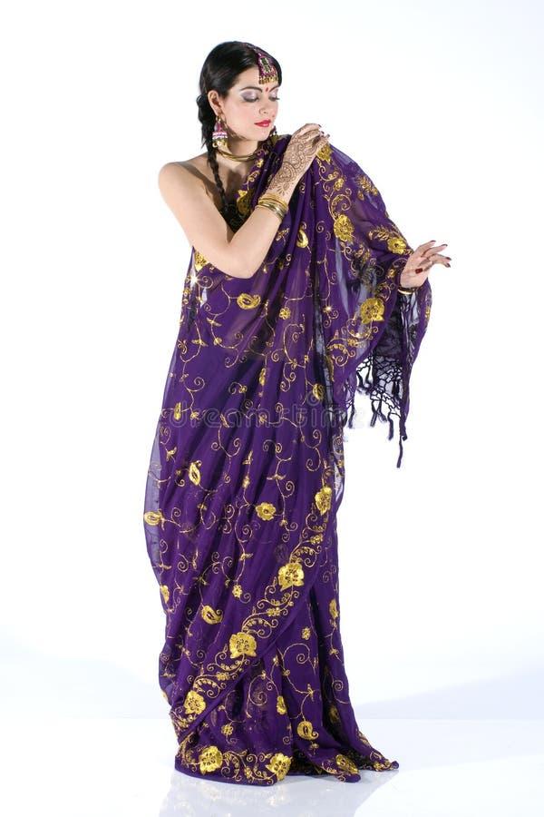 Menina indiana foto de stock royalty free