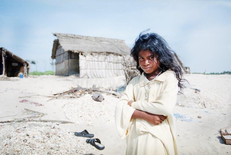 Menina indiana bonito foto de stock