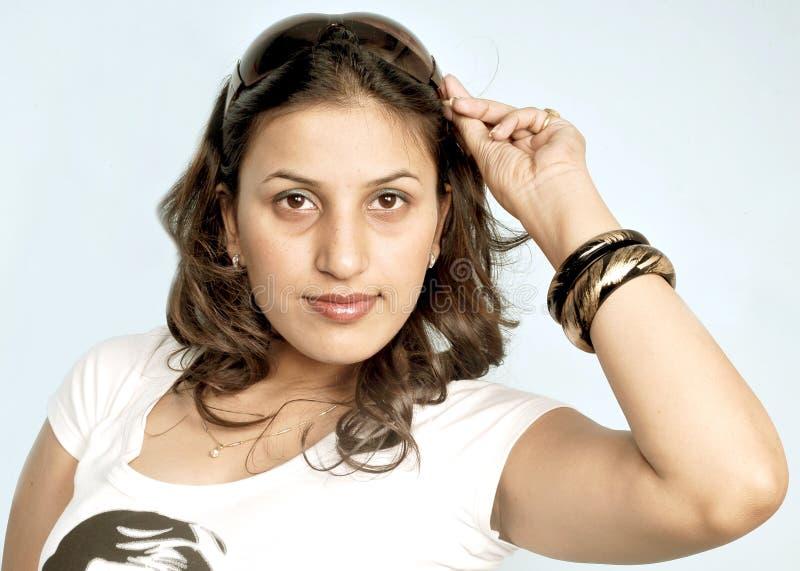 Menina indiana bonito fotos de stock