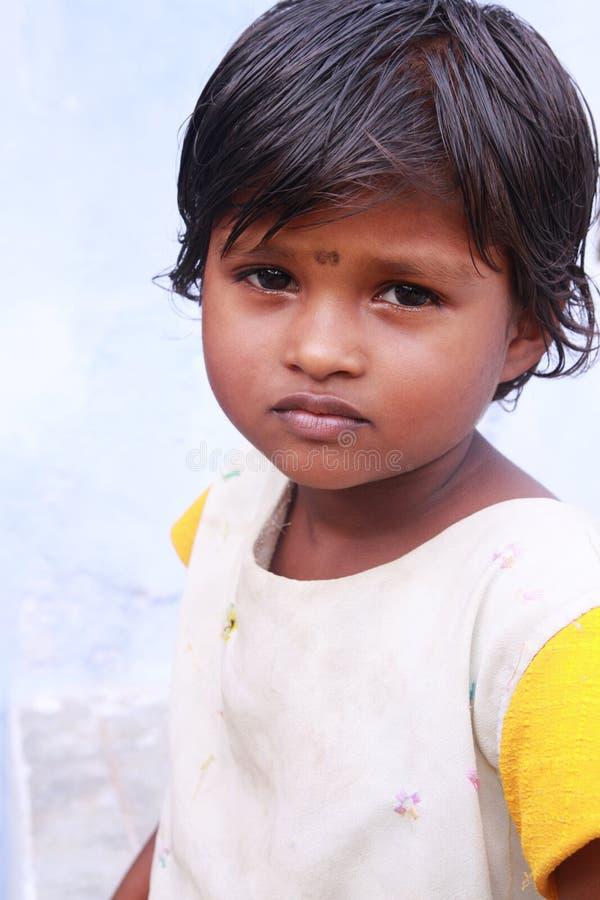 Menina indiana da vila foto de stock royalty free