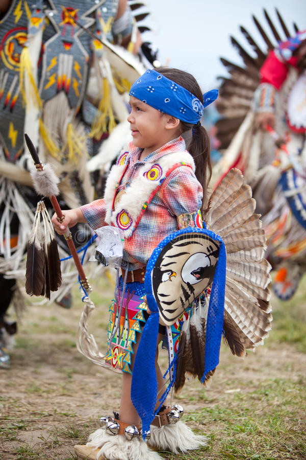 Menina indiana nativa foto de stock royalty free