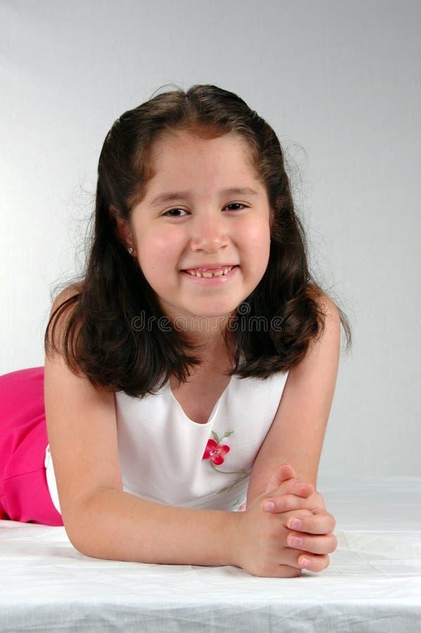 Menina Latin imagem de stock