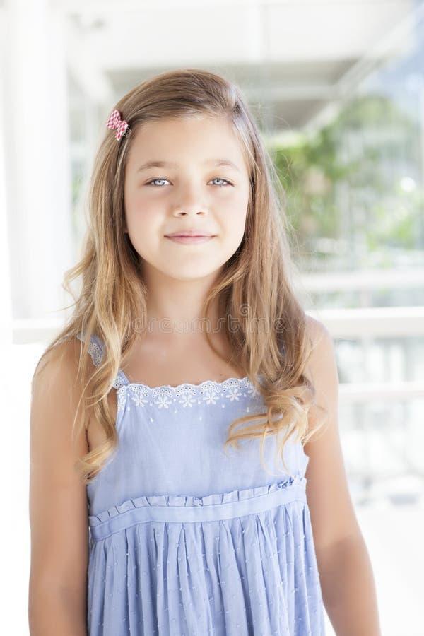 Menina loura bonita imagens de stock royalty free