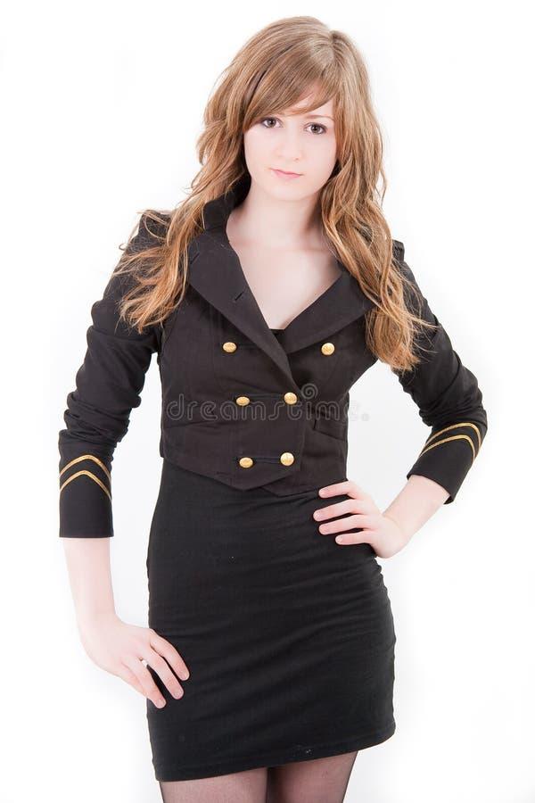 Download Menina Loura Bonita Do Adolescente Foto de Stock - Imagem de forma, bonito: 12812570