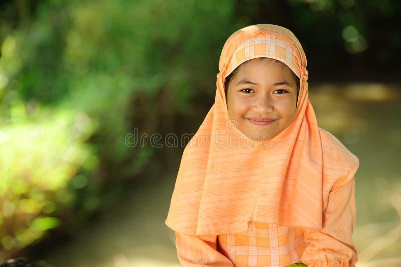 Menina muçulmana fotos de stock royalty free