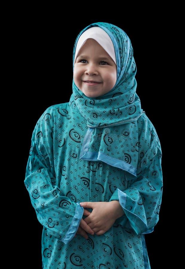 Menina muçulmana nova adorável fotografia de stock