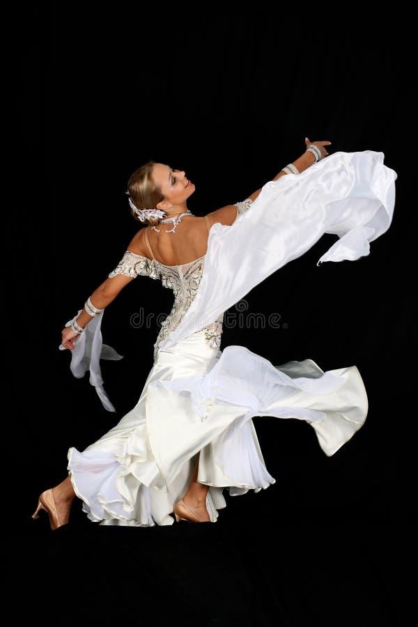 Menina na dança fotos de stock royalty free