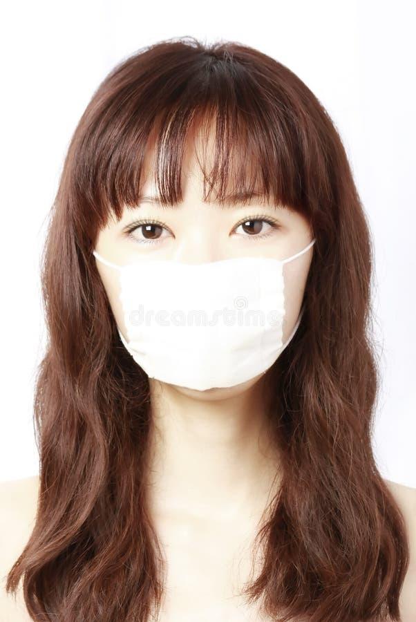 Menina na máscara fotos de stock royalty free