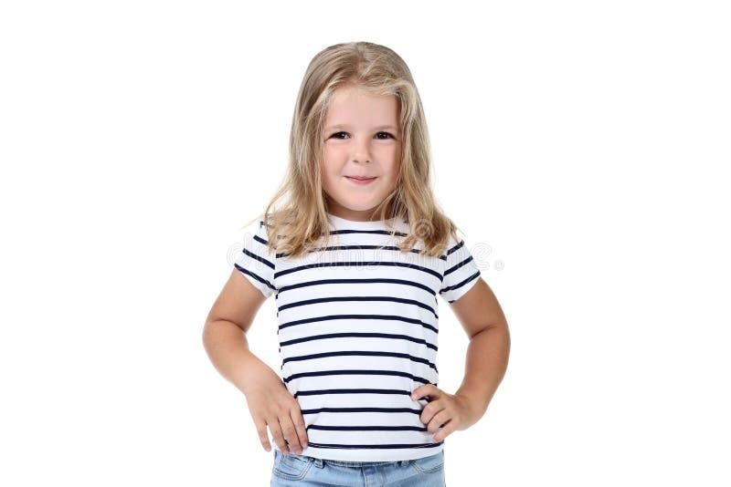 Menina na roupa da forma imagem de stock royalty free