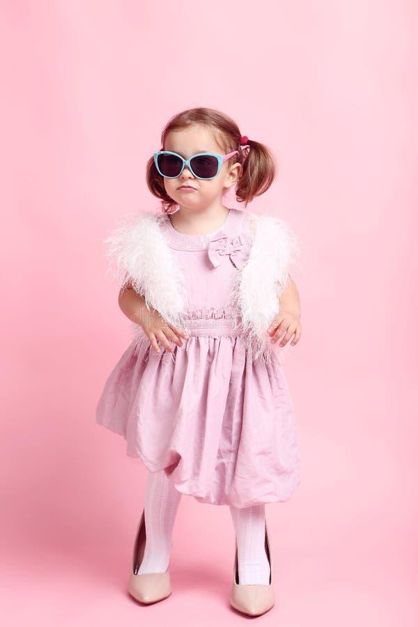 menina na roupa da forma fotografia de stock royalty free