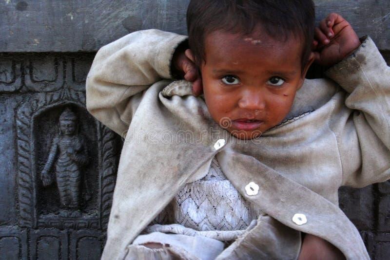 Menina nepalesa imagem de stock royalty free