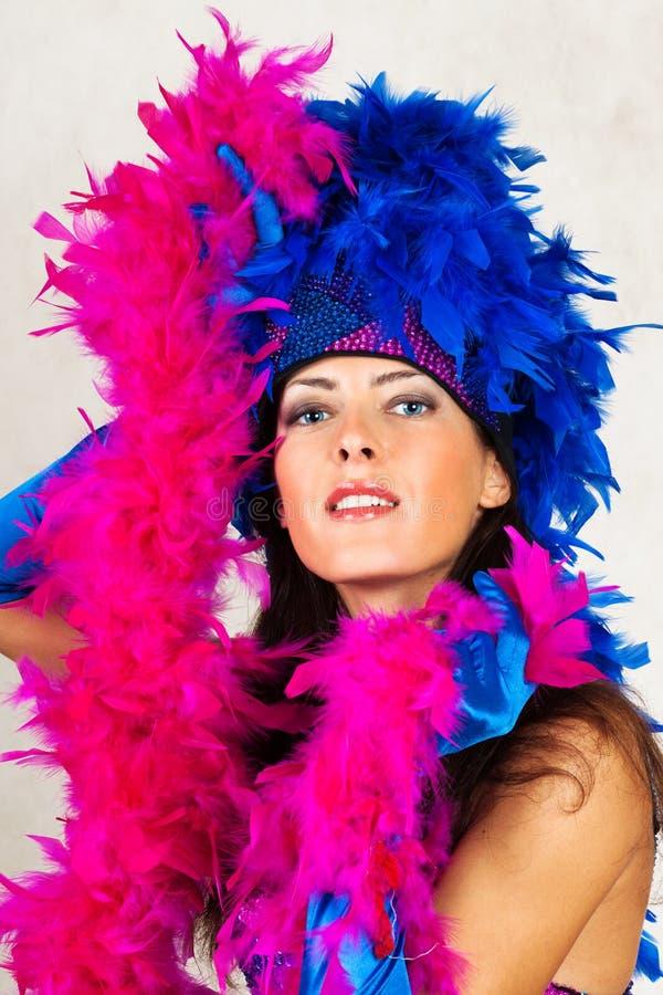 Menina no traje da dança imagens de stock royalty free