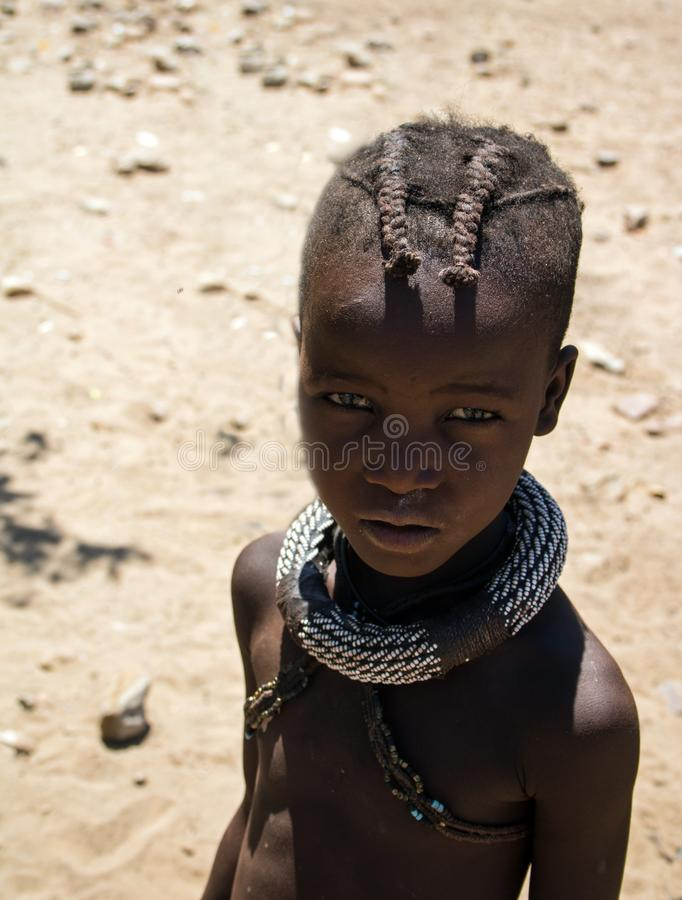 Menina nova de Himba fotos de stock royalty free
