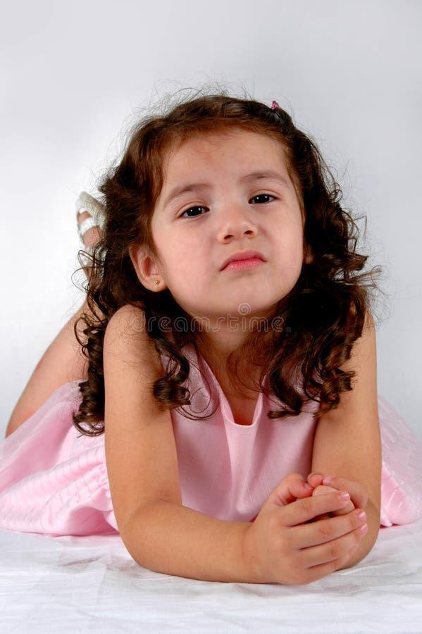 Menina nova do Latino imagens de stock
