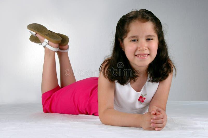 Menina nova do Latino fotos de stock royalty free
