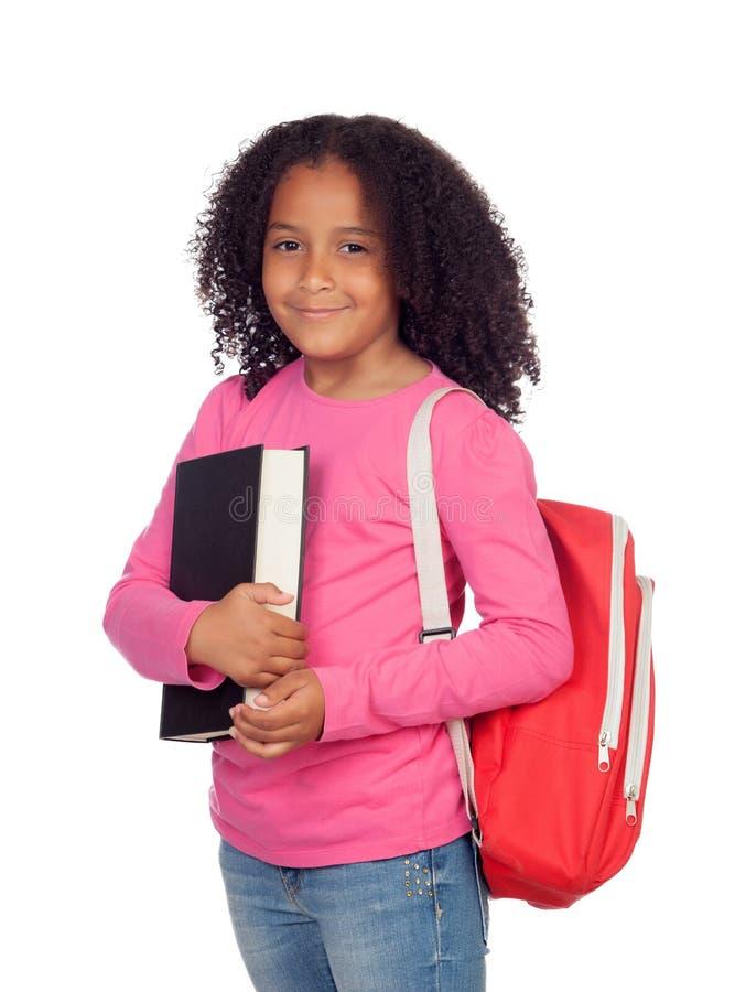 Menina pequena do estudante fotos de stock
