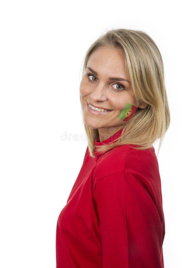 Menina portuguesa foto de stock