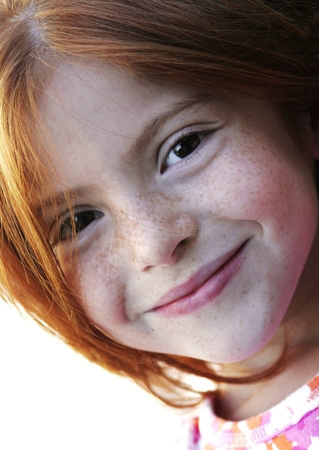 Menina Redheaded #1 fotos de stock royalty free