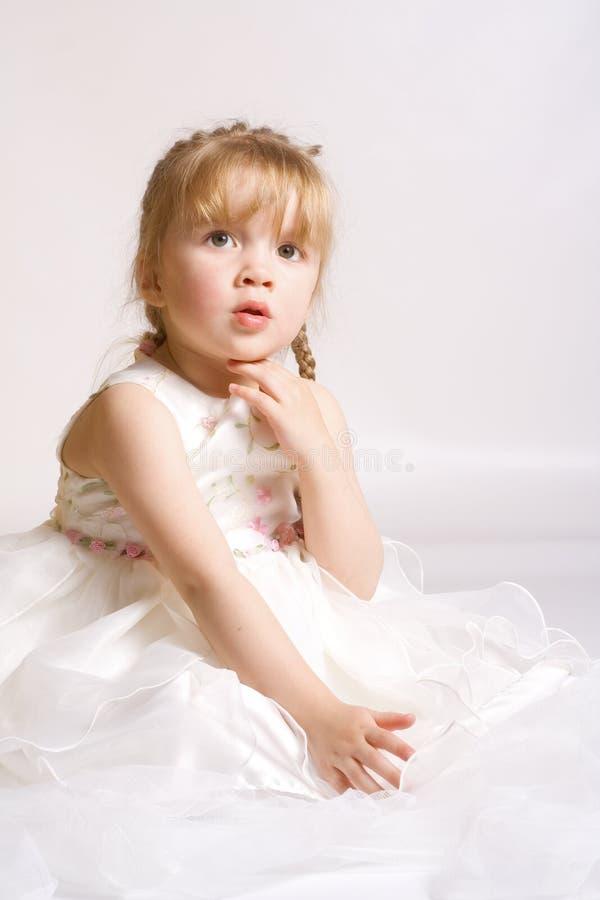 Menina romântica fotografia de stock royalty free