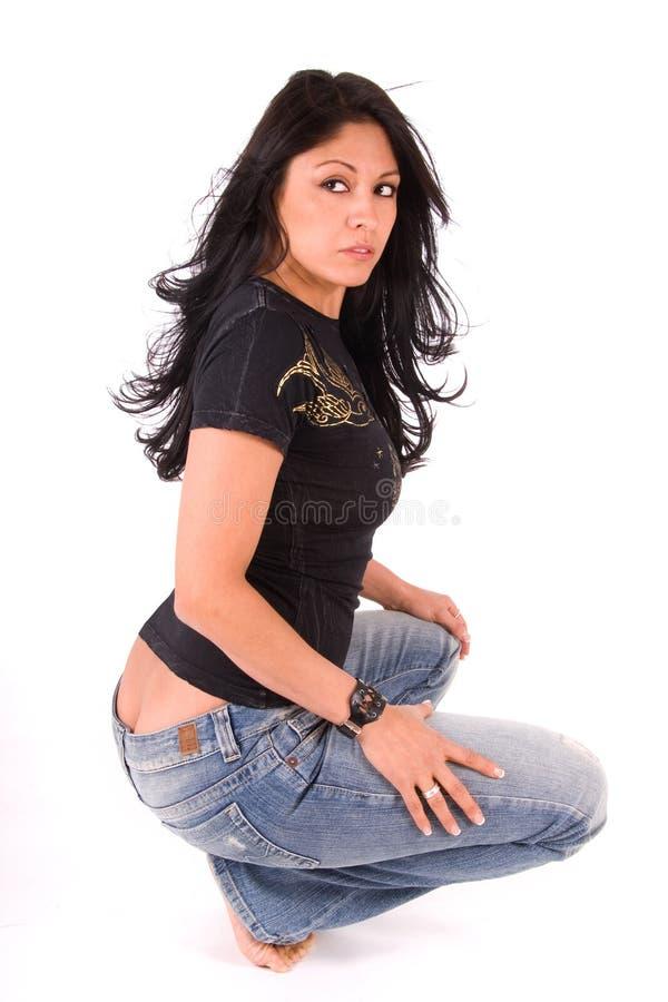 Menina ruim 'sexy'. foto de stock royalty free