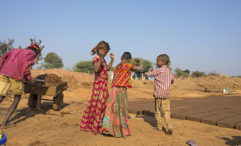 Menina rural foto de stock royalty free