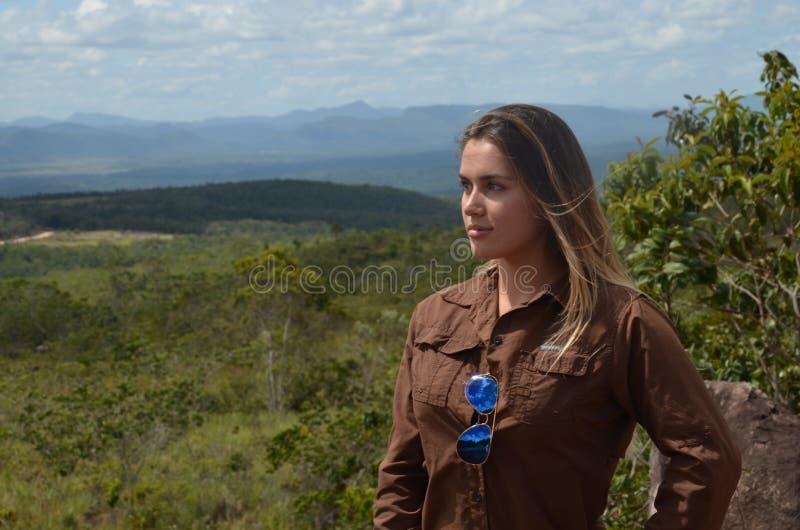 Menina & Sabana 3 fotos de stock royalty free