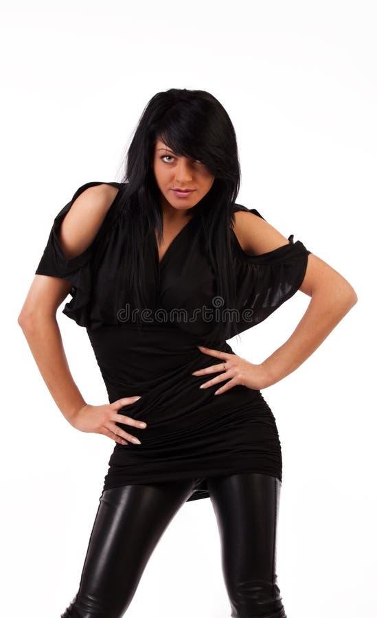 Menina sedutor 'sexy' imagens de stock royalty free
