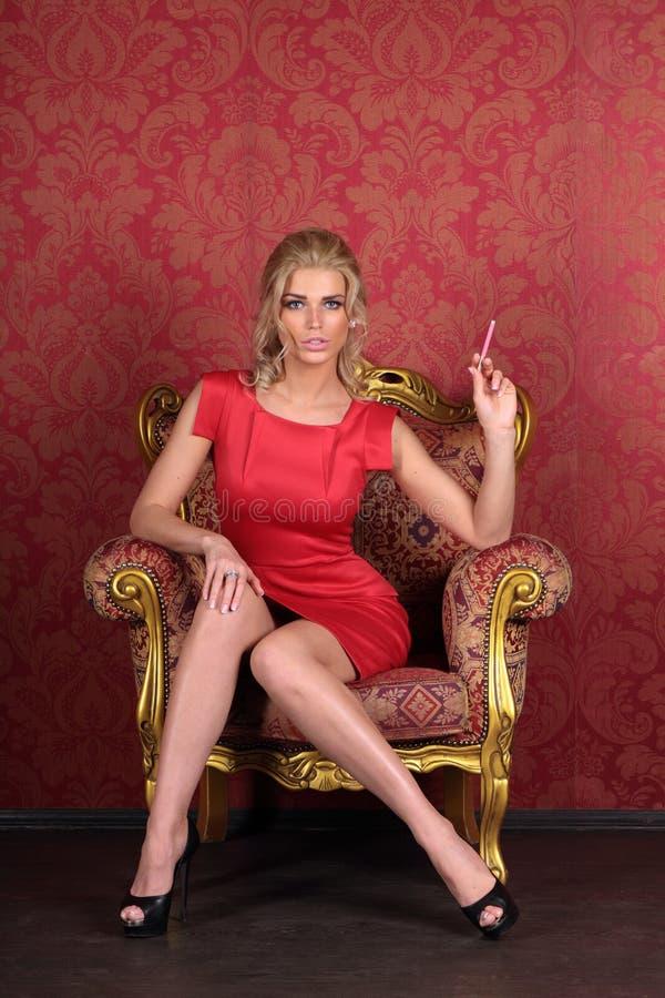 Menina 'sexy' imagens de stock royalty free