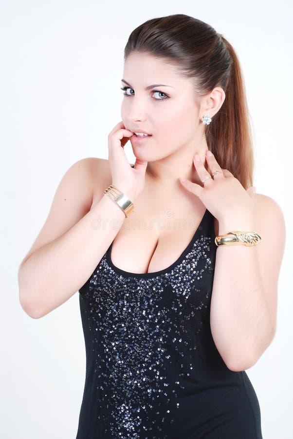 Menina 'sexy' foto de stock