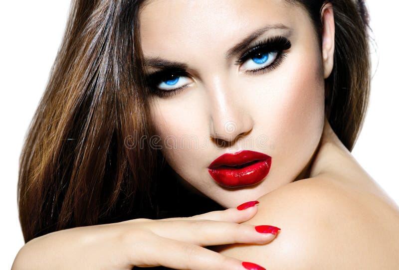 Menina 'sexy' da beleza foto de stock royalty free