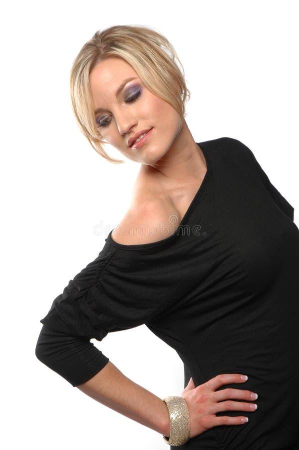 Menina 'sexy' da forma foto de stock